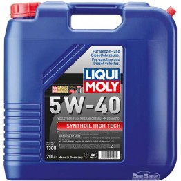 Моторное масло Liqui Moly Synthoil High Tech 5w-40 1308 20 л