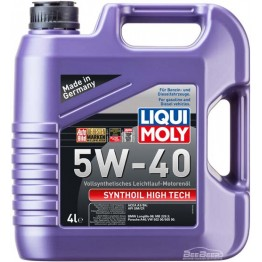 Моторное масло Liqui Moly Synthoil High Tech 5w-40 1915 4 л