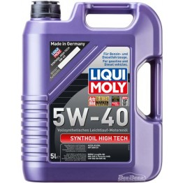 Моторное масло Liqui Moly Synthoil High Tech 5w-40 1925 5 л