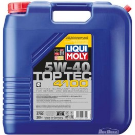 Моторное масло Liqui Moly Top Tec 4100 5w-40 3702 20 л