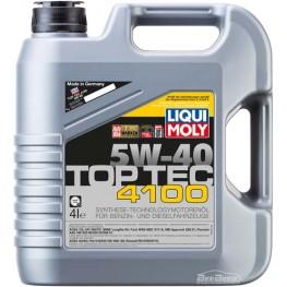 Моторное масло Liqui Moly Top Tec 4100 5w-40 7547 4 л
