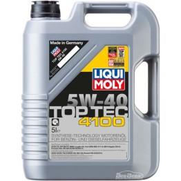 Моторное масло Liqui Moly Top Tec 4100 5w-40 7501 5 л