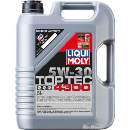 Моторное масло Liqui Moly Top Tec 4300 5w-30 8031 5 л