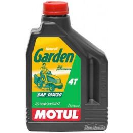 Масло для бензопил и газонокосилок 4Т Motul Garden 4T 10w-30 832802/101282 2 л