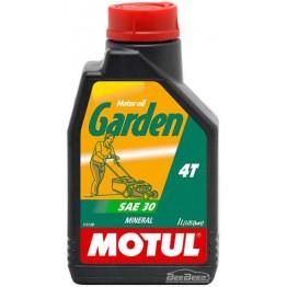 Масло для бензопил и газонокосилок Motul Garden 4T SAE 30 309701/102787 1 л