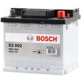 Аккумулятор автомобильный Bosch S3 45Ah (0 092 S30 020)