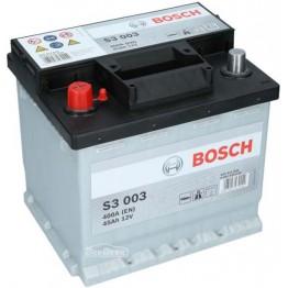 Аккумулятор автомобильный Bosch S3 45Ah (0 092 S30 030)