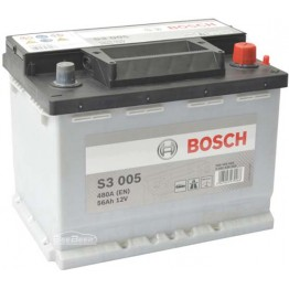 Аккумулятор автомобильный Bosch S3 56Ah (0 092 S30 050)