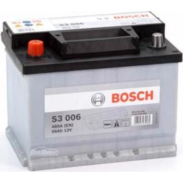 Аккумулятор автомобильный Bosch S3 56Ah (0 092 S30 060)