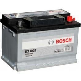 Аккумулятор автомобильный Bosch S3 70Ah (0 092 S30 080)