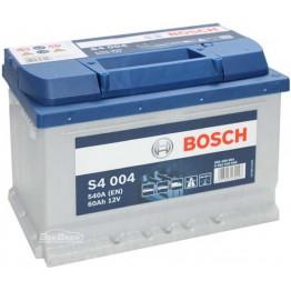 Аккумулятор автомобильный Bosch S4 Silver 60Ah (0 092 S40 040)