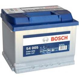 Аккумулятор автомобильный Bosch S4 Silver 60Ah (0 092 S40 050)