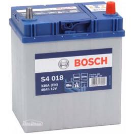 Аккумулятор автомобильный Bosch S4 Silver Asia 40Ah (0 092 S40 180)