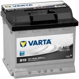 Аккумулятор автомобильный Varta Black Dynamic 45Ah 545412040 B19