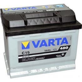 Аккумулятор автомобильный Varta Black Dynamic 56Ah 556401048 C15