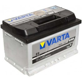 Аккумулятор автомобильный Varta Black Dynamic 70Ah 570144064 E9