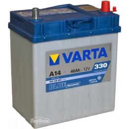Аккумулятор автомобильный Varta Blue Dynamic 40Ah 540126033 A14