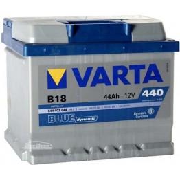 Аккумулятор автомобильный Varta Blue Dynamic 44Ah 544402044 B18