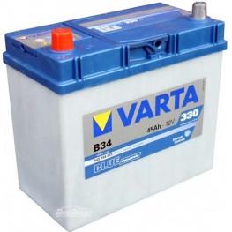 Аккумулятор автомобильный Varta Blue Dynamic 45Ah 545158033 B34