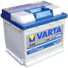 Аккумулятор автомобильный Varta Blue Dynamic 52Ah 552400047 C22