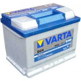 Аккумулятор автомобильный Varta Blue Dynamic 60Ah 560408054 D24
