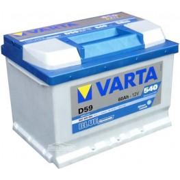 Аккумулятор автомобильный Varta Blue Dynamic 60Ah 560409054 D59