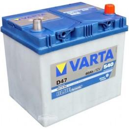 Аккумулятор автомобильный Varta Blue Dynamic 60Ah 560410054 D47