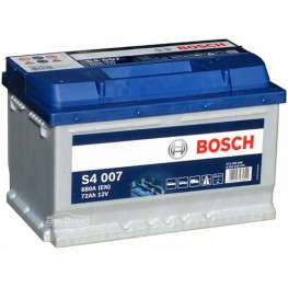 Аккумулятор автомобильный Bosch S4 Silver 72Ah (0 092 S40 070)