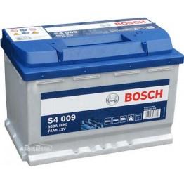Аккумулятор автомобильный Bosch S4 Silver 74Ah (0 092 S40 090)
