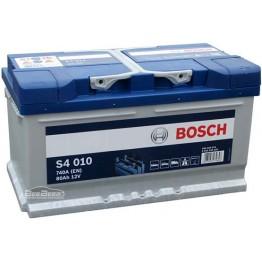 Аккумулятор автомобильный Bosch S4 Silver 80Ah (0 092 S40 100)