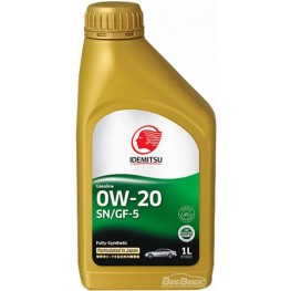 Моторное масло Idemitsu 0w-20 1 л