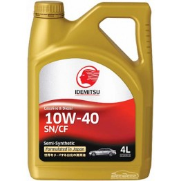 Моторное масло Idemitsu 10w-40 4 л