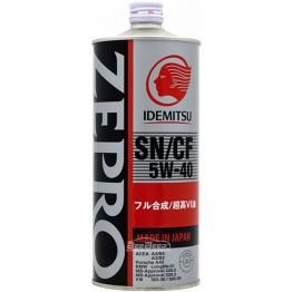 Моторное масло Idemitsu Zepro Euro Spec 5w-40 1 л