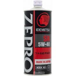 Моторное масло Idemitsu Zepro Racing 5w-40 1 л