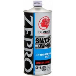 Моторное масло Idemitsu Zepro Touring Pro 0w-30 1 л