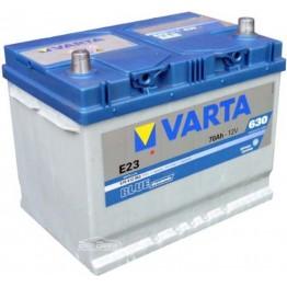 Аккумулятор автомобильный Varta Blue Dynamic 70Ah 570412063 E23