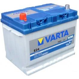 Аккумулятор автомобильный Varta Blue Dynamic 70Ah 570413063 E24