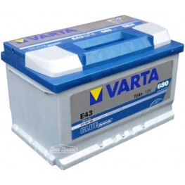 Аккумулятор автомобильный Varta Blue Dynamic 72Ah 572409068 E43