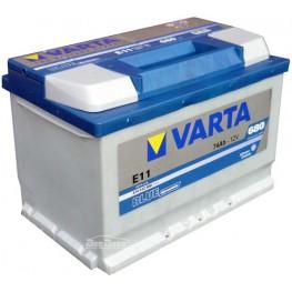 Аккумулятор автомобильный Varta Blue Dynamic 74Ah 574012068 E11