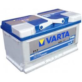 Аккумулятор автомобильный Varta Blue Dynamic 80Ah 580406074 F17