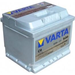 Аккумулятор автомобильный Varta Silver Dynamic 52Ah 552401052 C6
