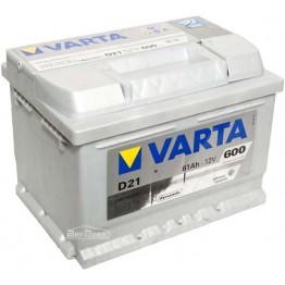 Аккумулятор автомобильный Varta Silver Dynamic 61Ah 561400060 D21