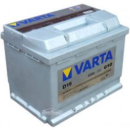 Аккумулятор автомобильный Varta Silver Dynamic 63Ah 563400061 D15