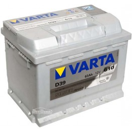 Аккумулятор автомобильный Varta Silver Dynamic 63Ah 563401061 D39