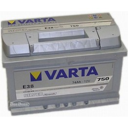 Аккумулятор автомобильный Varta Silver Dynamic 74Ah 574402075 E38
