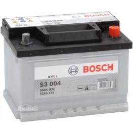 Аккумулятор автомобильный Bosch S3 53Ah (0 092 S30 041)