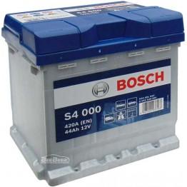 Аккумулятор автомобильный Bosch S4 Silver 44Ah (0 092 S40 001)