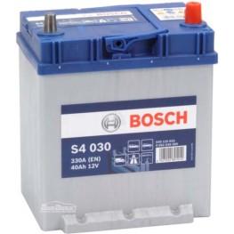 Аккумулятор автомобильный Bosch S4 Silver Asia 40Ah (0 092 S40 300)