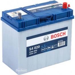 Аккумулятор автомобильный Bosch S4 Silver Asia 45Ah (0 092 S40 200)