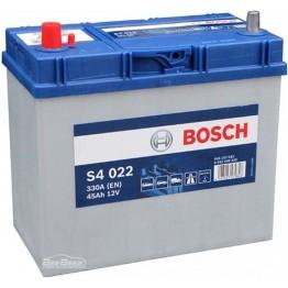 Аккумулятор автомобильный Bosch S4 Silver Asia 45Ah (0 092 S40 220)